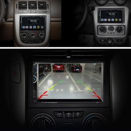 Киноэкраны онлайн-2018 Bluetooth автомобильный радиоприемник видео MP5 плеер Autoradio FM AUX USB SD 7001 HD 1080P сенсорный экран с AM + RDS Music Movie Player