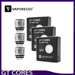 Wholesale coil head core - Vaporesso GT Series Cores NRG Coil Head GT2 GT4 GT6 GT8 0.15ohm Replacement Coils for Revenger Kit 0266168