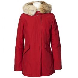 2019 meilleurs parkas d'hiver Meilleure vente Mode Woolrich Femmes Arctic Anorak Doudoune Femme Hiver Duvet d'oie En Plein Air Épais Parkas Manteau Femmes Vestes Chaudes