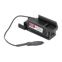 Wholesale Weaver Laser - Tactiacl Compact Pistol Weaver Rail Red Laser Sight With Remote Switch