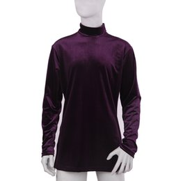 Wholesale Dance Costumes For Boys - heap dance point Mens Latin Dance Top For Boys Ballroom Pratice Dancewear Winter Warm Leisure Costumes 2015 New Arrival Long Sleeve Turtl...