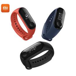 2019 armband geschliffen Original xiaomi mi band 3 smart armband fitness armband miband 3 big touchscreen oled nachricht herzfrequenz zeit smartband günstig armband geschliffen