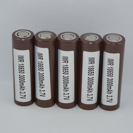 электрические зеленые автомобили Скидка 100% высокое качество 18650 батарея HG2 3000mAh 30A перезаряжаемые литиевые батареи для испарителя Vape box mod