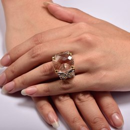 Wholesale Morganite Ring Silver Setting - ring care Shiny Morganite 925 Sterling Silver Ring Factory price For Women Size 6 7 8 9 10 11 F1487