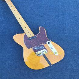 2019 dessus d'érable flammé à la guitare New style haute qualité personnalisé tele électrique guitare, érable touche, érable Flame Top guitare, livraison gratuite dessus d'érable flammé à la guitare pas cher