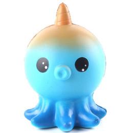 Jouets les plus populaires en Ligne-Squishy de jouets de poulpe coloré les plus populaires fournisseur doux jumbo hausse lente cadeau