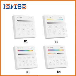 Mi luz rgbw online-Mi Light B1 B2 B3 B4 Panel Controller 2 X Batería AAA 2.4G RF Control de pantalla táctil para CCT DIM RGB RGBW RGB + CCT LED Strip / Bulb