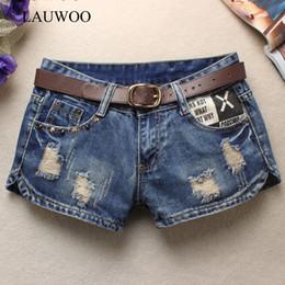 Da Donna Pantaloncini Di Jeans STAR CON BORCHIE rivettato Hotpants