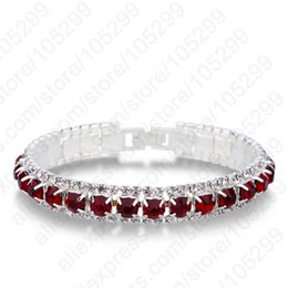 Wholesale 925 Silve - whole saleLast Design 925 Sterling Silve Women Classic Jewelry Clear Cubic Zircon Bracelet& Bangle Wholesale