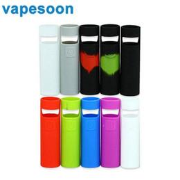 Wholesale joyetech cases - Vapesoon Silicone Rubber Case Sleeve Protective Cover for Joyetech eGo AIO D22 Start Kit Electronic Cigarette Skin Case Bag