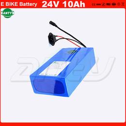 Canada eBike Batterie 24 V 10Ah 500 W Puissance pour Vélo Électrique avec 2A Chargeur 30A BMS Batterie Au Lithium 24 V Livraison Gratuite UE Pas de TAXE supplier electric bicycle 24v charger Offre