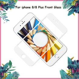 grading panel Coupons - Newest Grade A+++ Front Outer Glass Lens for iphone 8 & 8 Plus Front Touch Panel with Black & White Color DHL Free Shipping