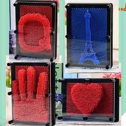 Empreintes digitales en plastique en Ligne-6 couleurs Pinart Plastics 3D Aiguille D'empreinte Digitale DIYY Mode Décor À La Maison Art Nouveauté Cadeaux Drop Shipping