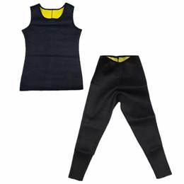 Wholesale Shaper Pants - Hot Shapers Men's Compression Slimming Shirt Redu Shaper Shirts Black Tshirt Men Shaper Waist Trainer Thermal Slimming Hot Pants