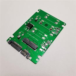 Argentina Soporte de perfil de altura completa mSATA a SATA adaptador convertidor de tarjeta para portátil portátil SSD interno Suministro