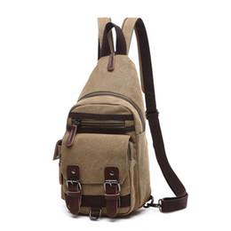Borsa a tracolla in tela vintage da uomo a spalla borsa a spalla da donna / uomo zaino da viaggio multifunzione borsa piccola borsa da uomo a spalla da