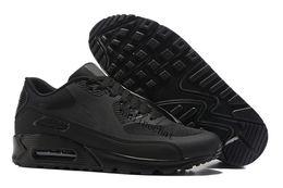 Wholesale Blue Shark Size - Hot Sale Newest Shark Camo Deluxe 90 Sports Shoes Men Leopard Retro Running Shoes Trainer Sneakers Size Eu40-46