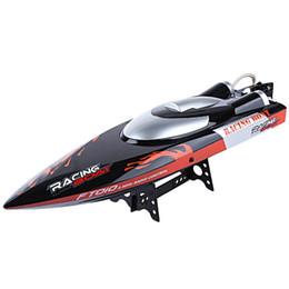Canada Bateau de course d'origine FeiLun 2.4G RC 35 km / h avec système de refroidissement intégré Fonction de redressement Bateau électrique RC Bateau FT010 Jouets VB cheap electric speedboat Offre