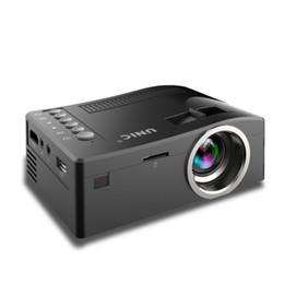 2018 Nuevo Original Unic UC18 Mini LED Proyector Portátil Proyectores de bolsillo Reproductor multimedia Juego de cine en casa Compatible con HDMI USB desde fabricantes