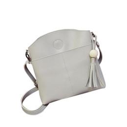 Wholesale Luxury Bag Summer - Wholesale- luxury Spring summer Tassel Women Bag Leather Handbag Cross Body Shoulder Bags women messenger bags Brand new wholesale 2017