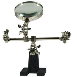 Argentina Accesorio de la soldadura de la lupa del escritorio, herramientas de grabado de la joyería, tabla de la lupa de la reparación, herramienta de la abrazadera del soporte del clip Suministro