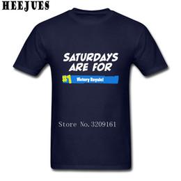 Wholesale Cheap Cotton T Shirts - 2018 Cool Round Neck Cotton Fortnite Victory Royale Men t shirt Men's t shirts Cheap Sale