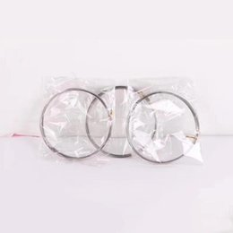 Wholesale create bracelets - Stainless Steel Metal Geoflux Toroflux Flow Ring Decompression Toys Holographic by While Moving Creates a Ring Flow Toys Flow Bracelet