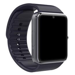 Montre Smart Watch GT08 Horloge Fente Pour Carte Sim Message Push Connectivité Bluetooth Android IOS apple Téléphone pk F69 DZ09 Smartwatch ? partir de fabricateur