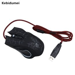 Wholesale Lol Led - Kebidumei 3200DPI LED Cool Professional Optical Gaming Mouse 6 Buttons Gamer Equipment for PC Laptop for LOL CS DOTA2