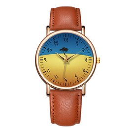 Wholesale Lady Beautiful Watch - Baosaili Genuine Leather Wrist Watch Men Women Beautiful Landscape Watches Ladies WristWatch Montre Femme Relogios Hombre B-9152