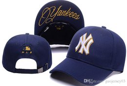 Wholesale Men S Snapback Hats - New letter Baseball Caps 2018 New York#yankees#s Embroidery Hip Hop bone Snapback Hats for Men Women hat Adjustable Gorras Casquette Unisex