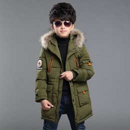 b71877a9e59 New baby Boys Winter Coat 5 to 14 Years Hooded Children Patchwork Down Baby Boy  Winter Jacket Boys Kids Warm Outerwear Parks