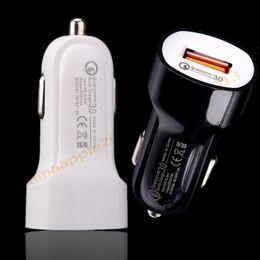 altavoz bluetooth lg Rebajas QC 3.0 Carga rápida 5V 3A 9V 2A 12V 1.5A Dc cargador de coche usb adaptador de corriente para iphone samsung s8 s9 gps mp3 altavoz bluetooth