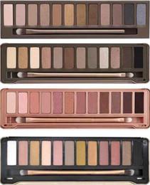 Wholesale New Nake - New NAKE Makeup Eyeshadow nude palette 12 color Eyeshadow Palette NKed eye shadow pallet Palette NO 1 2 3 5 Eye Shadow DHL free shiping