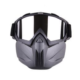 Wholesale ski mask glass - Men Women Ski Snowboard Snowmobile Goggles Mask Snow Winter Skiing Ski Glasses Motocross Sunglasses