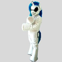 Wholesale Horse Fancy Dress - 2018 New high quality Horse Mascot costumes for adults circus christmas Halloween Outfit Fancy Dress Suit Free Shipping