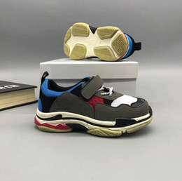 Wholesale Huaraches Basketball Shoes - New Kids Retro running Basketball shoes fashion Sneakers Shoes For Boys Girls Children's Trainers Huaraches Sport Running Shoes Size 26-37