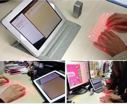 Laser virtual on-line-KB560S Teclado De Projeção Virtual A Laser Bluetooth Teclado A Laser Mouse Virtual Para Tablet PC Notebook Mobile Phones