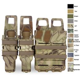 accessoires de gilet tactique Promotion Boîte à accessoires gilet tactique Airsoft FAST MAG FAST Magazine Holster Set Molle Mag Clip rapide Mag Magazine Pouch SO06-104