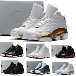führte kühle net lichter Rabatt Nike air jordan 13 retro KIDS 13s Basketball Schuhe One Penny Hardaway Kinder Tennis FOAM Aubergine Basketball Sportschuhe Outdoor Athletic Sneaker Schuh Eur 41-47