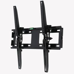 LED LCD TV Wall Mount Flat Panel Écran Fixe Support de TV réglable Support de rack de suspension Convient avec l'instrument de nivellement Pour 26 ? partir de fabricateur