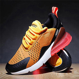 Wholesale martial arts training - (with box)2018 New 270 Running Shoes Teal for Men Women 270 Training Sneakers Walking Sport Fashion Sneaker size Eur 36-45