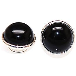 ganchos de botão antigo Desconto Pedra preciosa Pedra Natural Kameleon Jewelpops Serve DIY Inserir Charme Pulseiras, colar, anel, 925 chapeamento de prata, jewelpops de cristal de cores sortidas