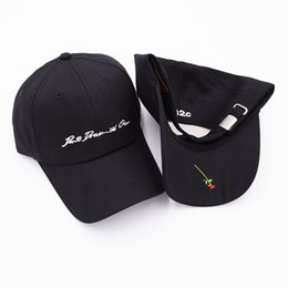 774c5b9332a Fashion caps 032C men women flowers hip hop streetwear hat kanye west  summer embroidery justin bieber sanpback hat baseball cap