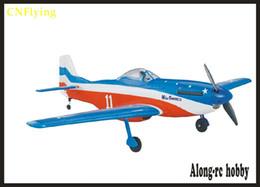 Rc combattenti aerei online-EPO aereo warII RC aereo RC MODELLO HOBBY TOY 1016mm apertura alare p-51 POLO MUSTANG Fighter (kit set o set PNP)