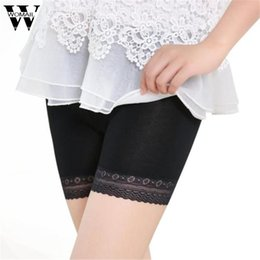 Wholesale Tiered Pants Wholesale - Womail Fashion Lace Tiered Skirts Short Skirt Under Safety Pants Popular Underwear Shorts Women Intimates Nov8