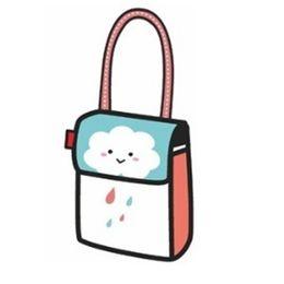 f8081b8674bf Comic Book Handbag Messenger Print Art Square Bag Designer Bolsa Feminina Luxury  3D Cartoon Drop Ship Beautiful Lovely