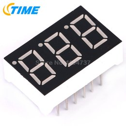 2019 tubo de panel led 10PCS Cathode Común 0.36 pulgadas 3 Bit Digital Tube Led Led Display Series Voltage Panel tubo de panel led baratos