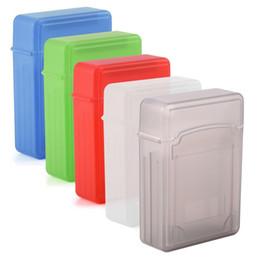 u1 оптовые Скидка 5 Цвет антистатические этикетки корпус 2,5-дюймовый HDD / SSD защитный противоударный чехол ящик для хранения