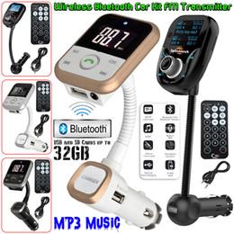 Falantes de envio on-line-2018Wireless Bluetooth Car MP3 Player Rádio FM Transmissor LCD SD USB Kit Carregador USB Modulador + Remoto Frete Grátis
